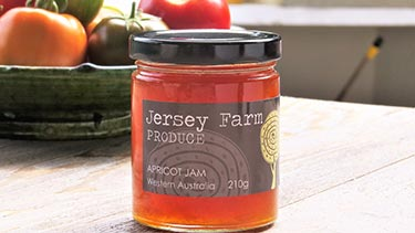 apricot jam from Jersey Farm